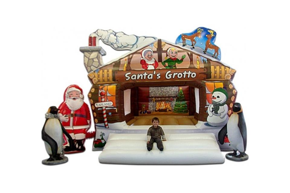 Santa Grotto by airgame