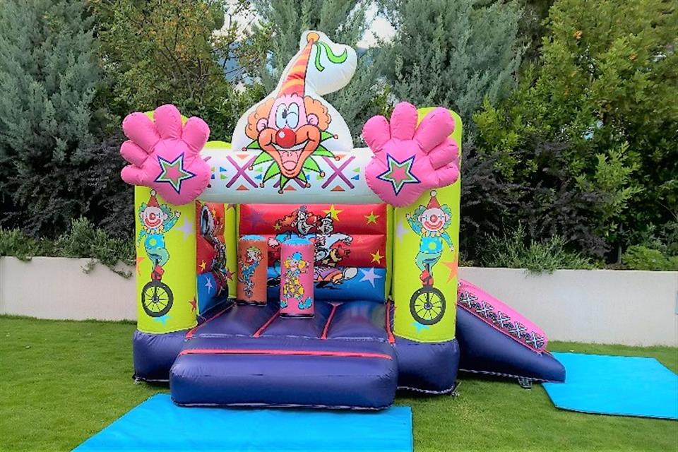 Colorful Inflatable Circus by airgame