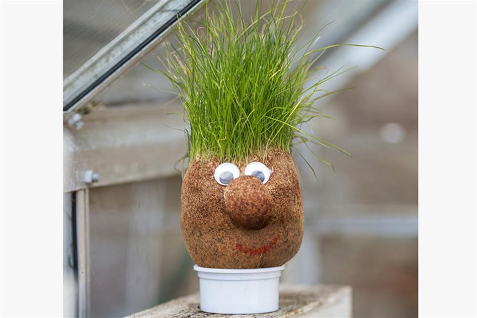 Mr. Grass Head by airgame