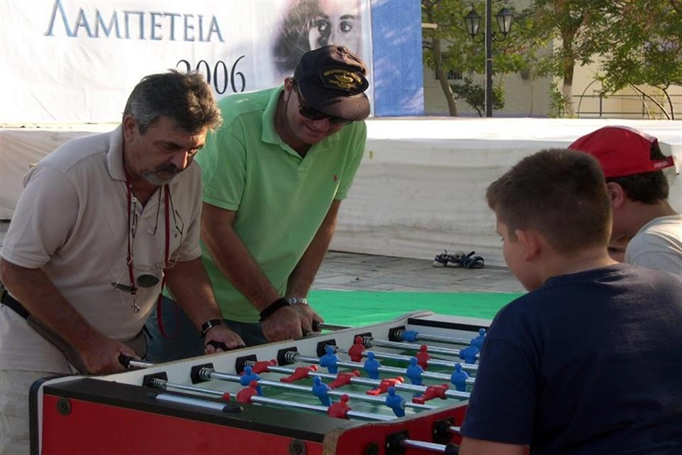 Family day table soccer by airgame