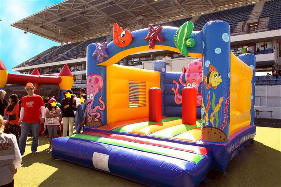 Inflatable Castle Sea Life by airgame