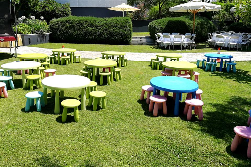 June Offer 2  - Free children's stools & rotundas with inflatable rental