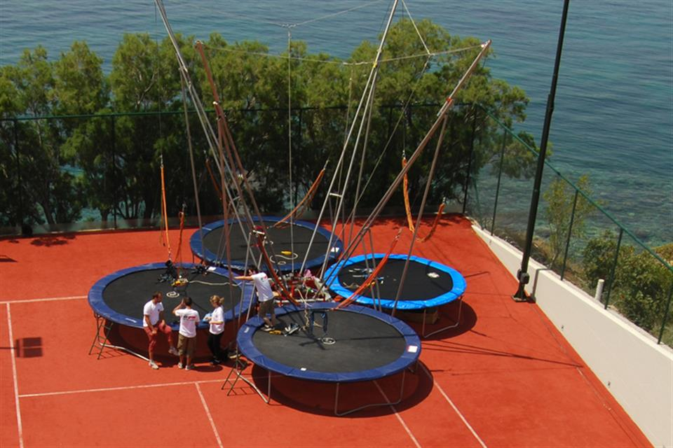 Bungee Trampoline 4persons by airgame