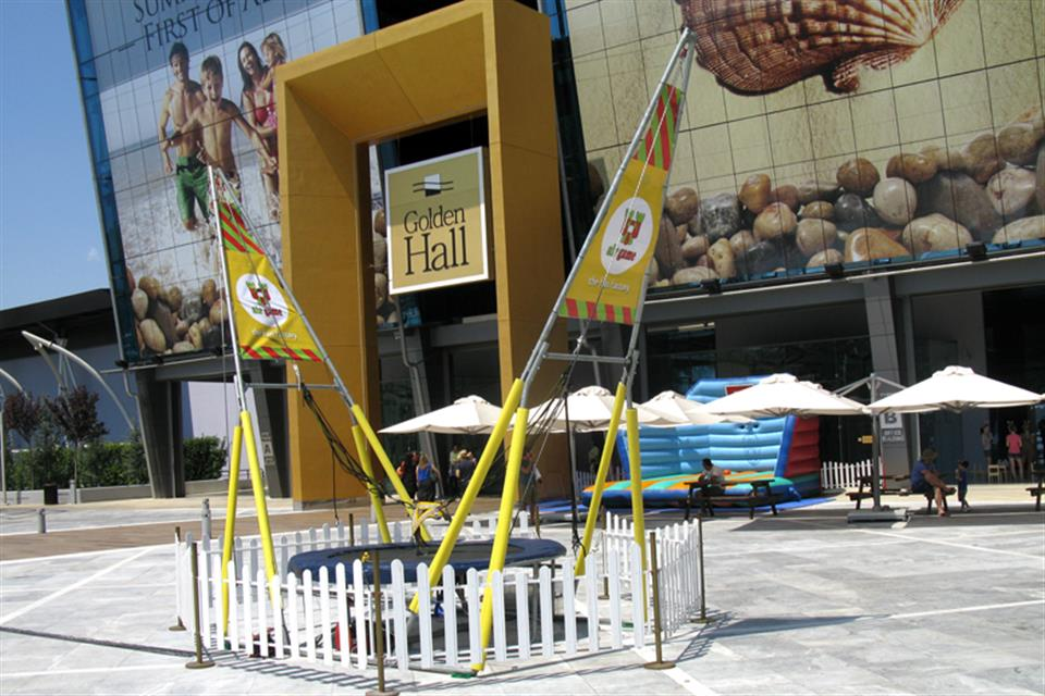 Bungee Trampoline single Golden Hall by airgame