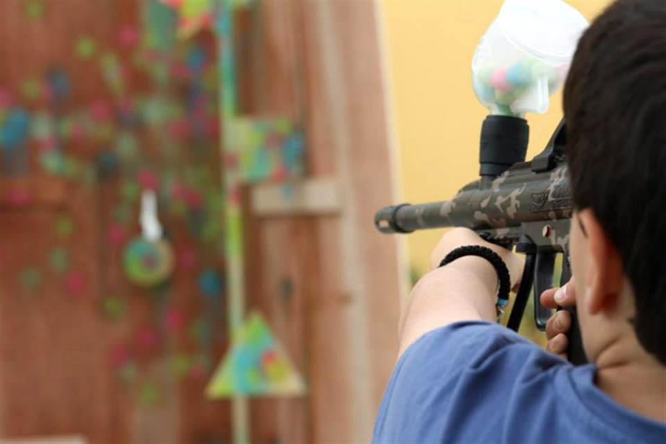 Paintball Target Shooting by airgame