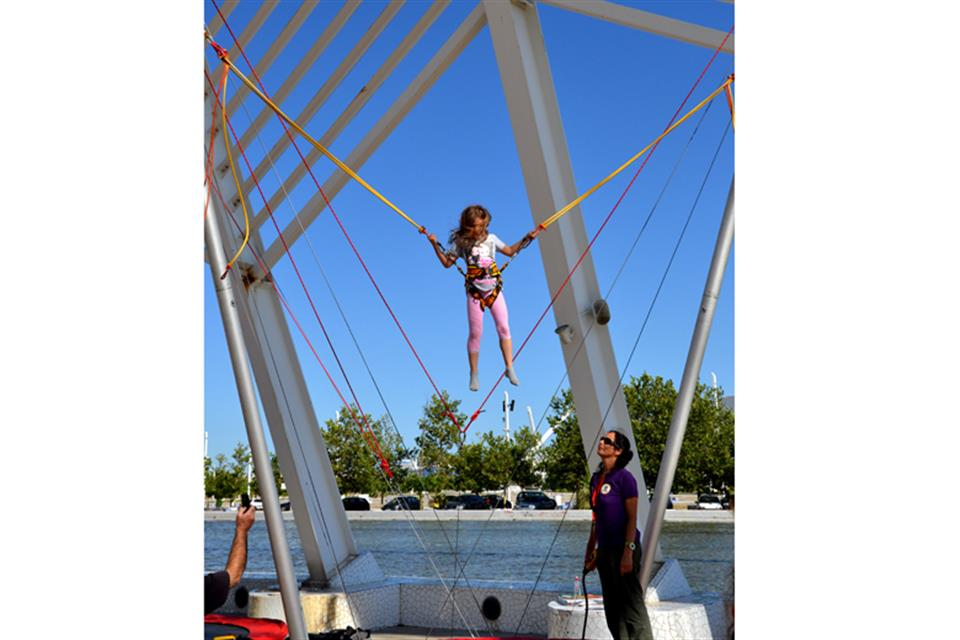 Bungee Trampoline Double by airgame